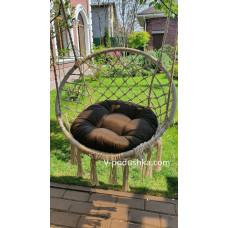 Круглая подушка на подвесное кресло