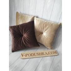 Декоративная подушка 40*40 см (ткань мех-велюр)