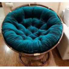 Круглая подушка на кресло папасан