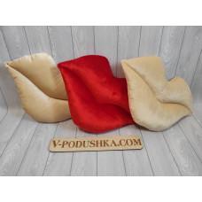Декоративная подушка Губы