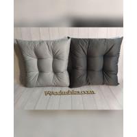 Подушка квадратная 30*30  (стеганая, ткань с водоотталкивающей пропиткой)