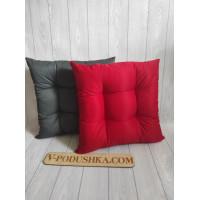 Подушка на табурет 30*30  (стеганая, ткань с водоотталкивающей пропиткой)
