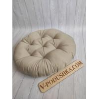Подушка круглая на подвесное кресло или Папасан ( диаметр 60 см )