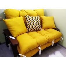 Матрас на мебель из паллет (ткань рогожка)
