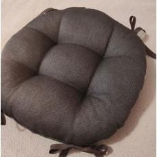 Круглая подушка на заказ (ткань рогожка люкс)