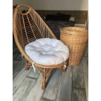 Круглая подушка на заказ (ткань с водоотталкивающей пропиткой)