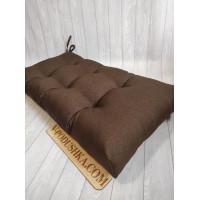 Подушка на мебель из паллет на заказ (Ткань рогожка)