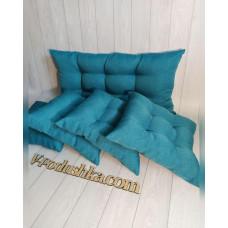 Подушка и матрас на заказ (ткань рогожка люкс)